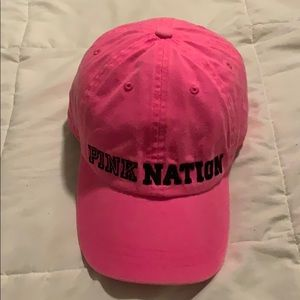 VS Pink Baseball Hat
